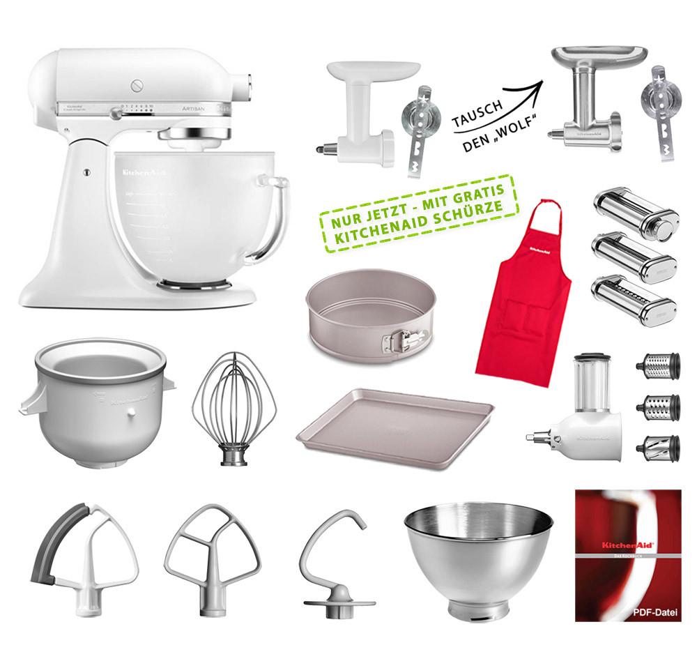 KitchenAid Artisan Küchenmaschine Mega-Paket