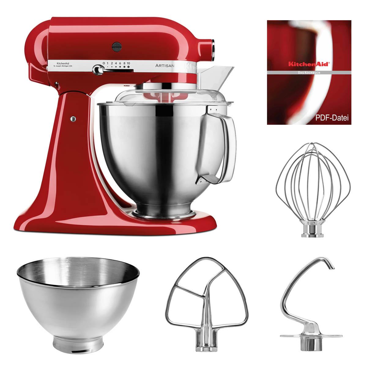 KitchenAid Küchenmaschine 5KSM185PSEER