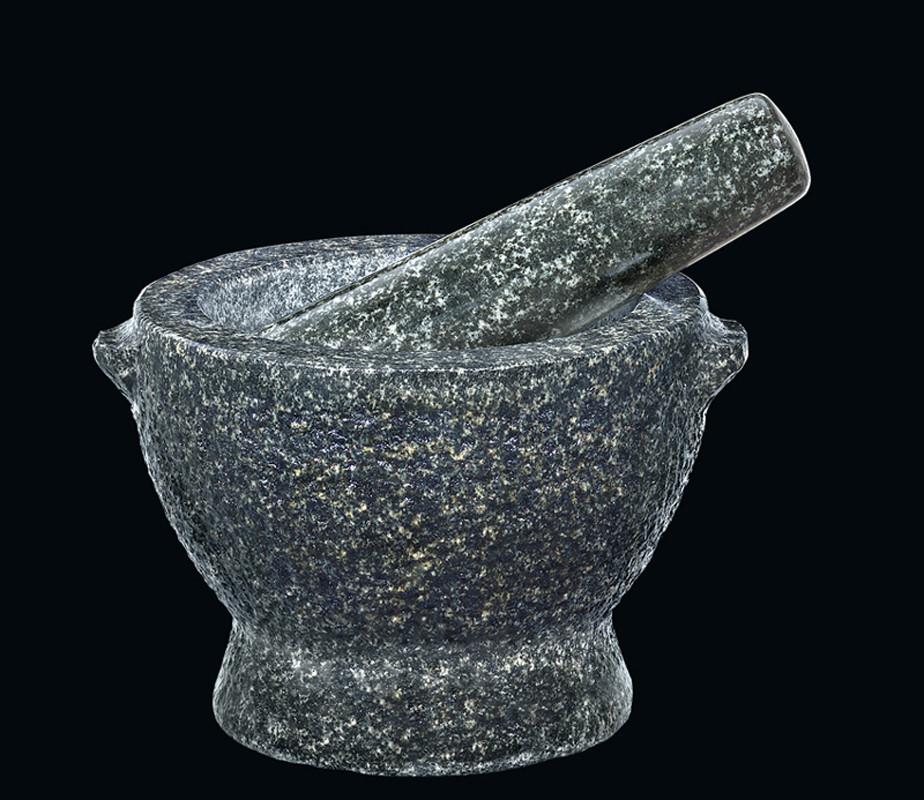 Cilio Granitmörser David mit Stößel 13 cm