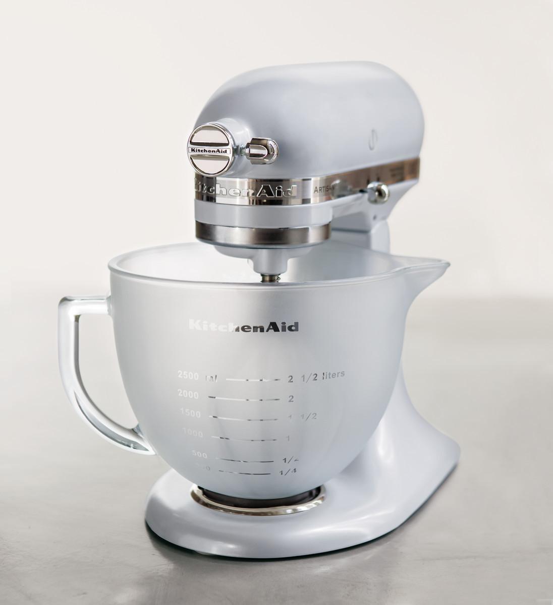 KitchenAid Artisan Küchenmaschine 4,8 Liter frosted pearl