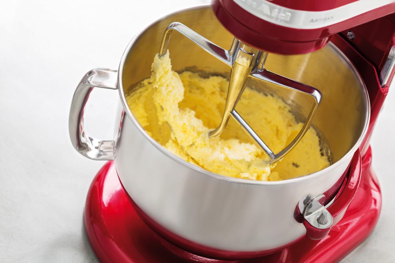 KitchenAid Ersatz-Flachrührer für Küchenmaschine mit Schüsselheber