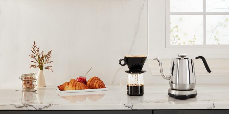 Kaffee- und Teezubereitungen mit KitchenAid