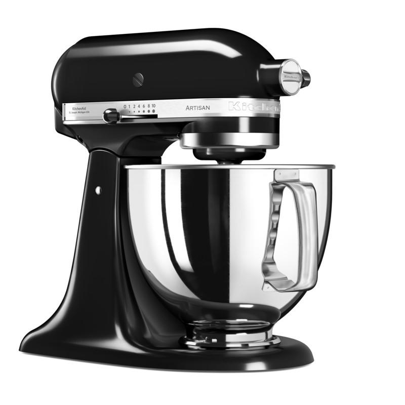 KitchenAid Küchenmaschine 125PS Gemüseschneider Set Onyxblack schwarz