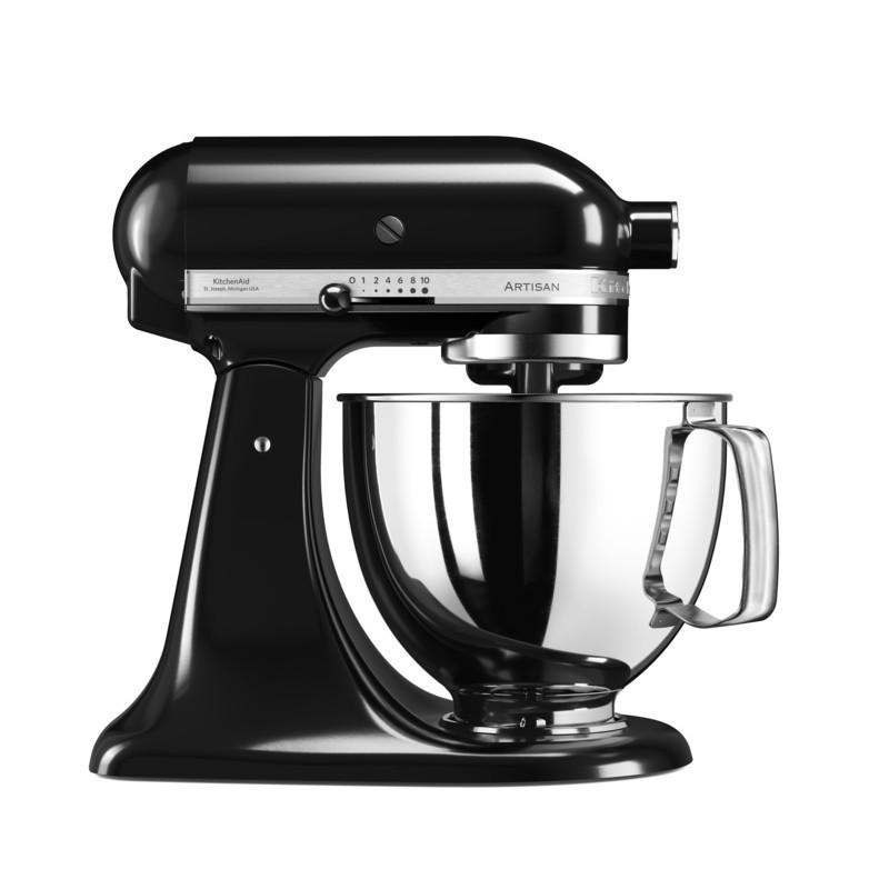 KitchenAid Artisan Küchenmaschine 4,8l onyx schwarz