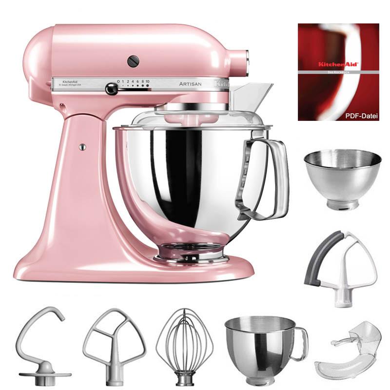 kitchenaid artisan k chenmaschine 4 8l pink. Black Bedroom Furniture Sets. Home Design Ideas