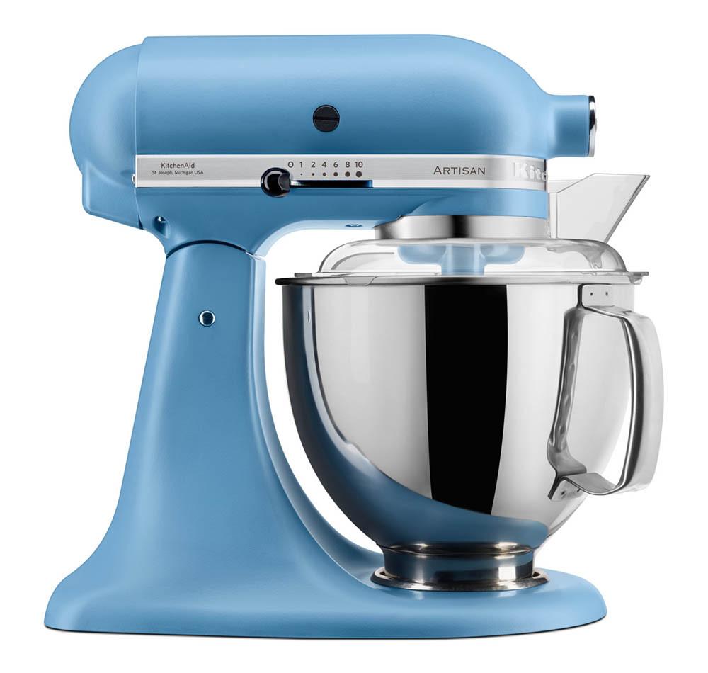 KitchenAid Artisan Küchenmaschine 175PS Foodprocessor Set samtblau