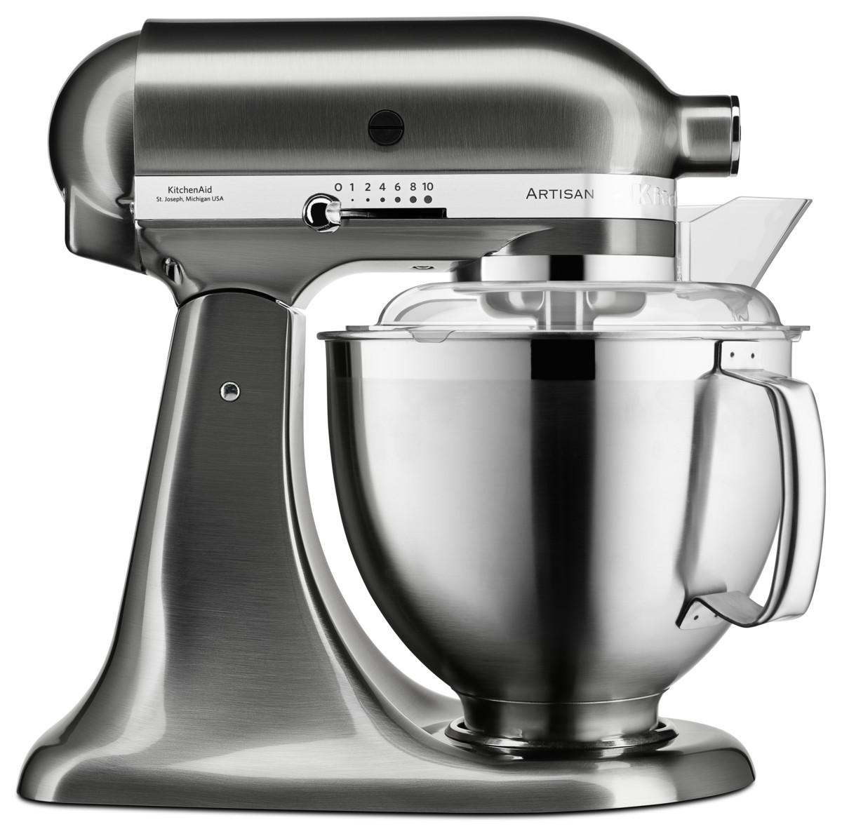 KitchenAid Küchenmaschine 5KSM185PS gebürstetes Metall