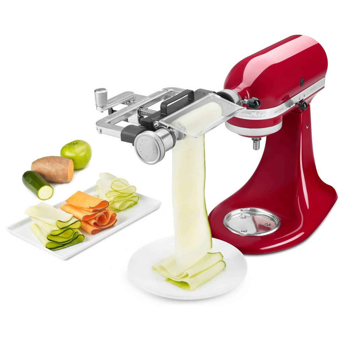 KitchenAid Gemüseblattschneider 5KSMSCA an Küchenmaschine