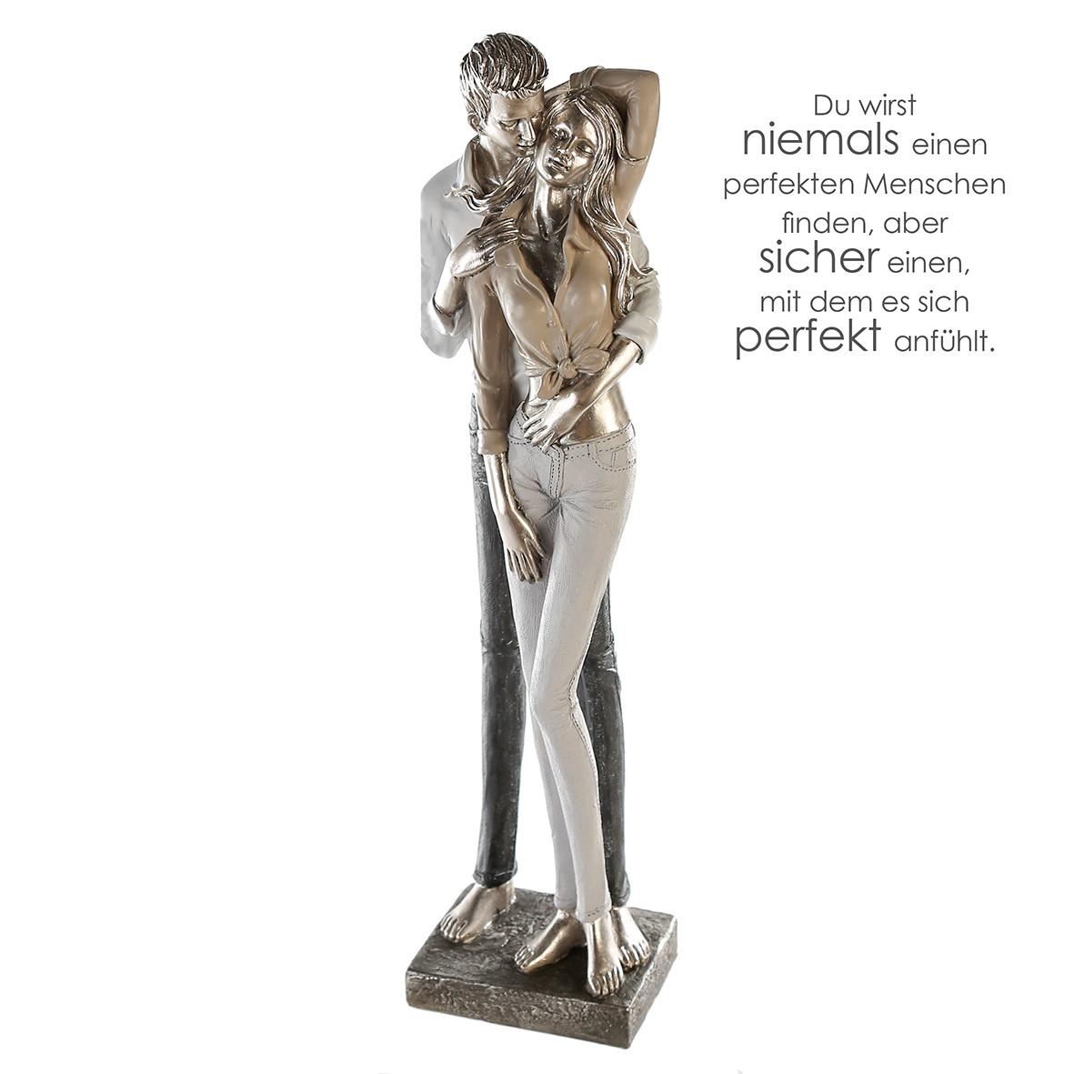 Casablanca Skulptur - Modernes Paar