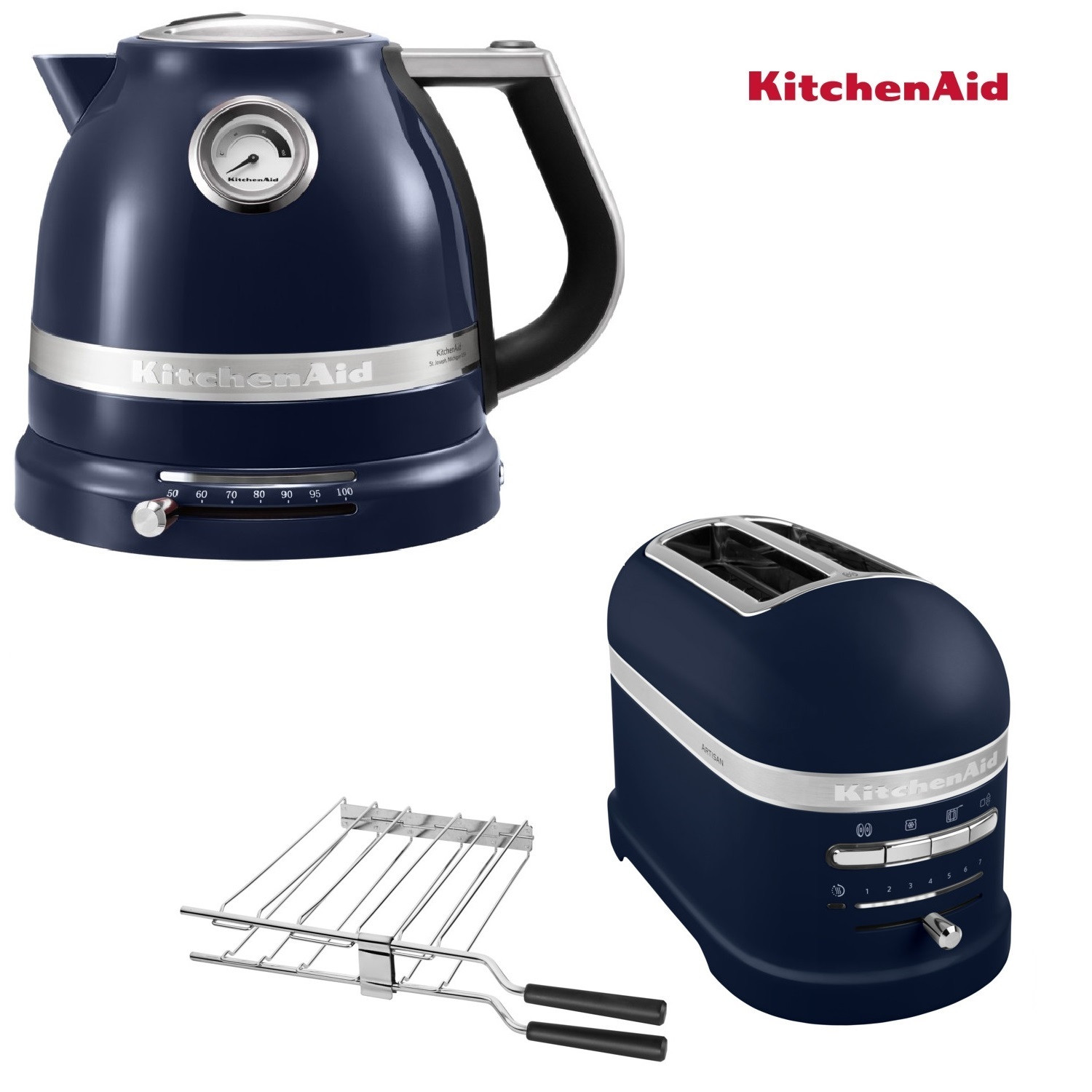 KitchenAid Artisan Wasserkocher + Toaster ink Blue