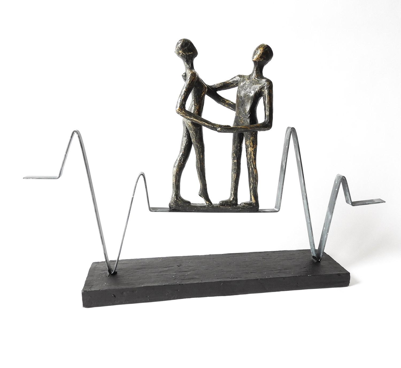 Casablanca skulptur heartbeat poly metall im suhl online shop - Casablanca design bilder ...