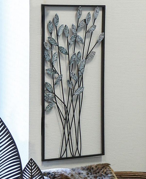 Casablanca Wanddeko Twigs - Zweige und Blätter im Rahmen
