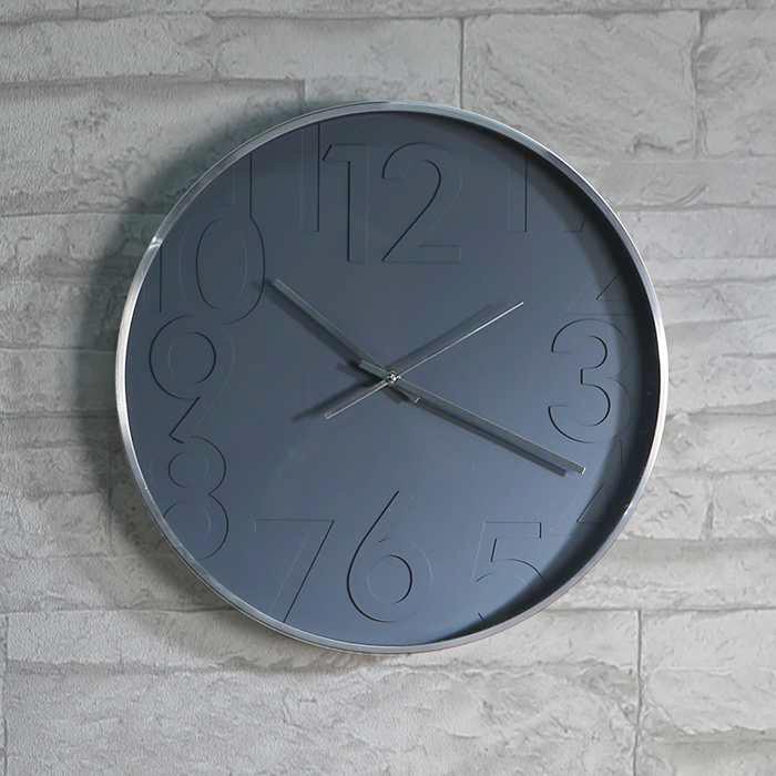 casablanca uhr grigio wanduhr 40 cm alu geb rstet im suhl shop. Black Bedroom Furniture Sets. Home Design Ideas