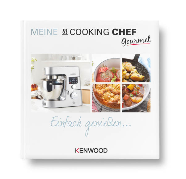 Kenwood Cooking Chef Gourmet  Kochbuch