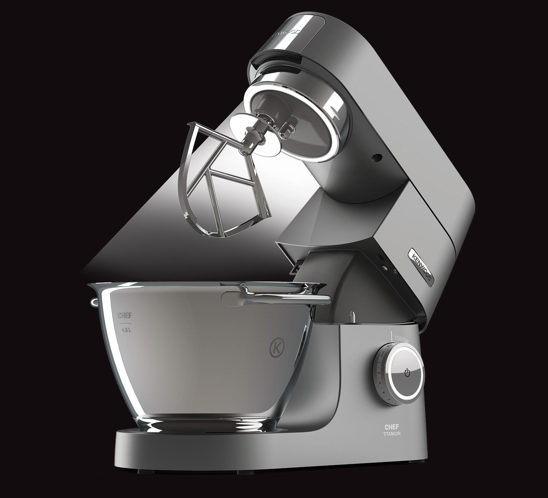 Kenwood Chef Titanium Beleuchtung