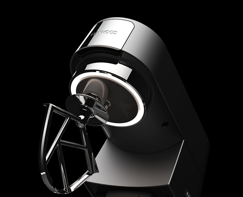Kenwood Küchenmaschine Chef Beleuchtung Titanium KVC7320S