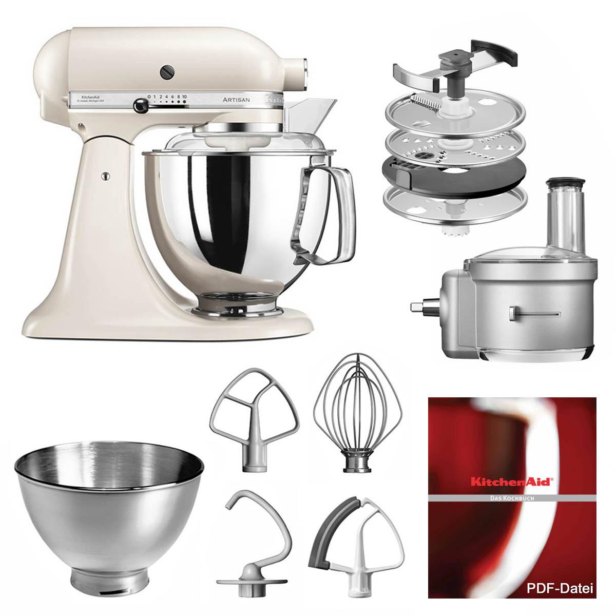KitchenAid Küchenmaschine 175PS Foodprocessor Set baiser