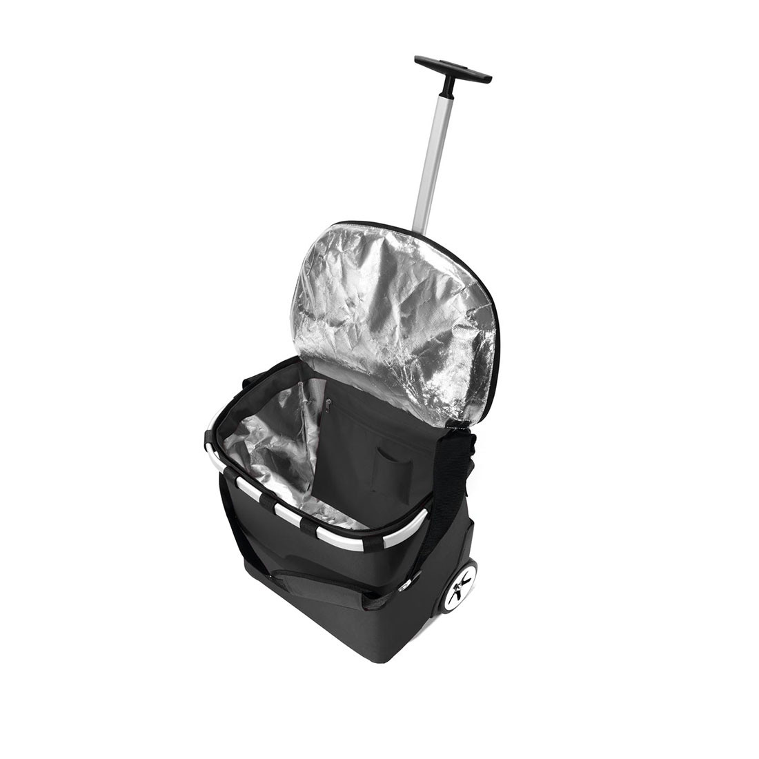reisenthel® carrycruiser 40l iso black - Isolierender Trolley