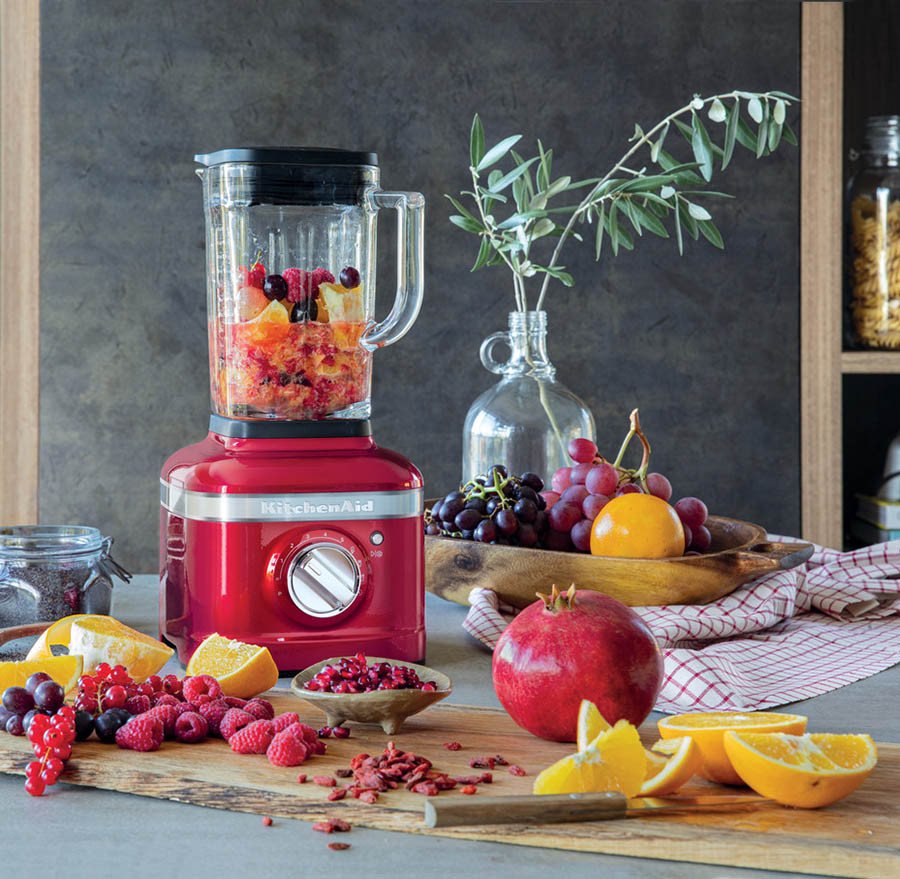 KitchenAid Standmixer K400 in der Küche