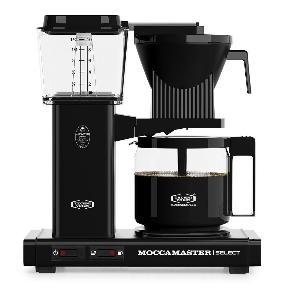 Moccamaster Filterkaffeemaschine Select in Schwarz