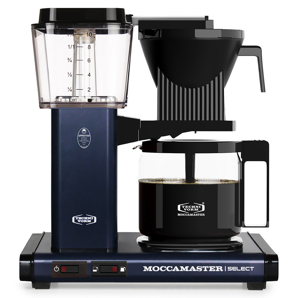 Moccamaster Kaffeemaschine midnight blue