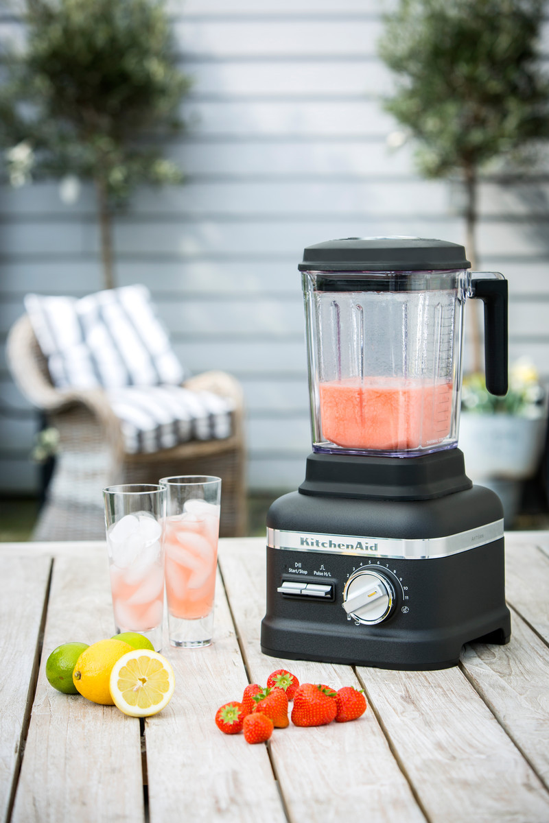 KitchenAid ARTISAN Power Plus Blender/Standmixer Gusseisen-Schwarz
