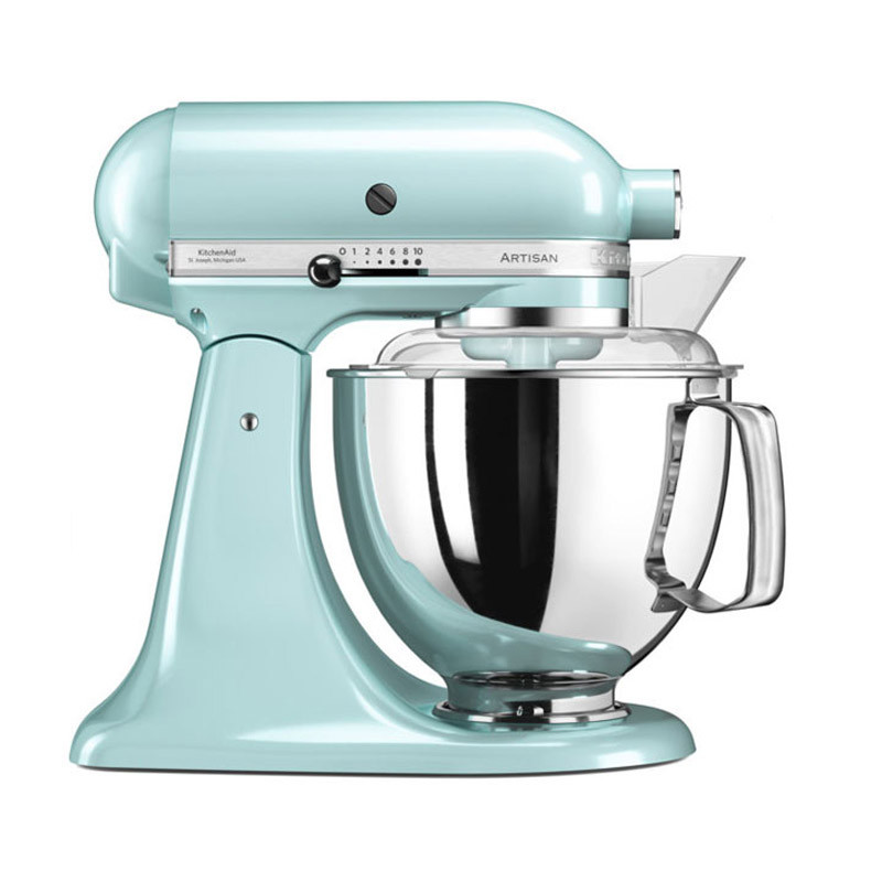 KitchenAid Artisan Küchenmaschine 4,8l Aktionspaket 5 eisblau