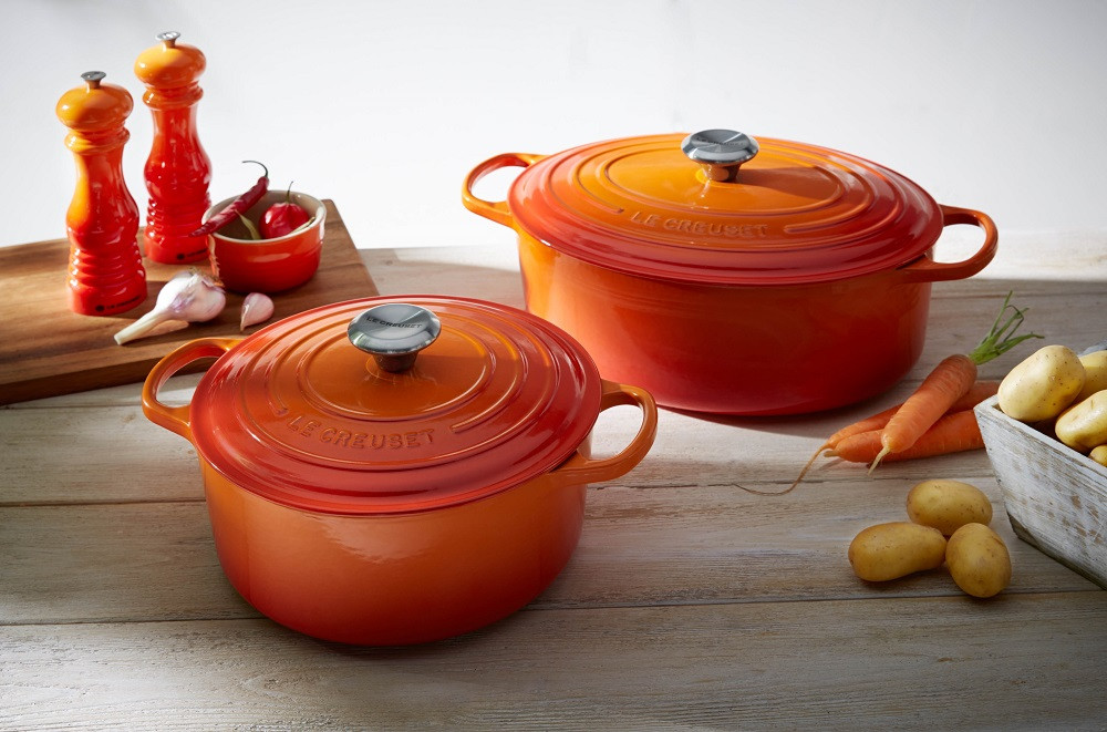 Le Creuset Signature Bräter oval 27 cm ofenrot
