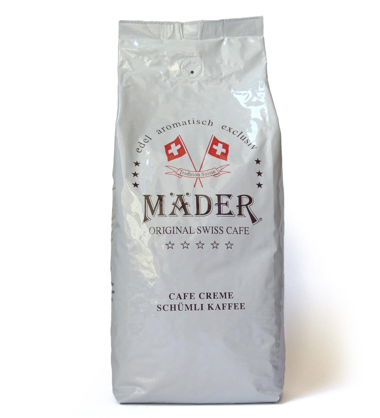 Mäder Edelweiss Mischung 1kg Kaffeebohnen