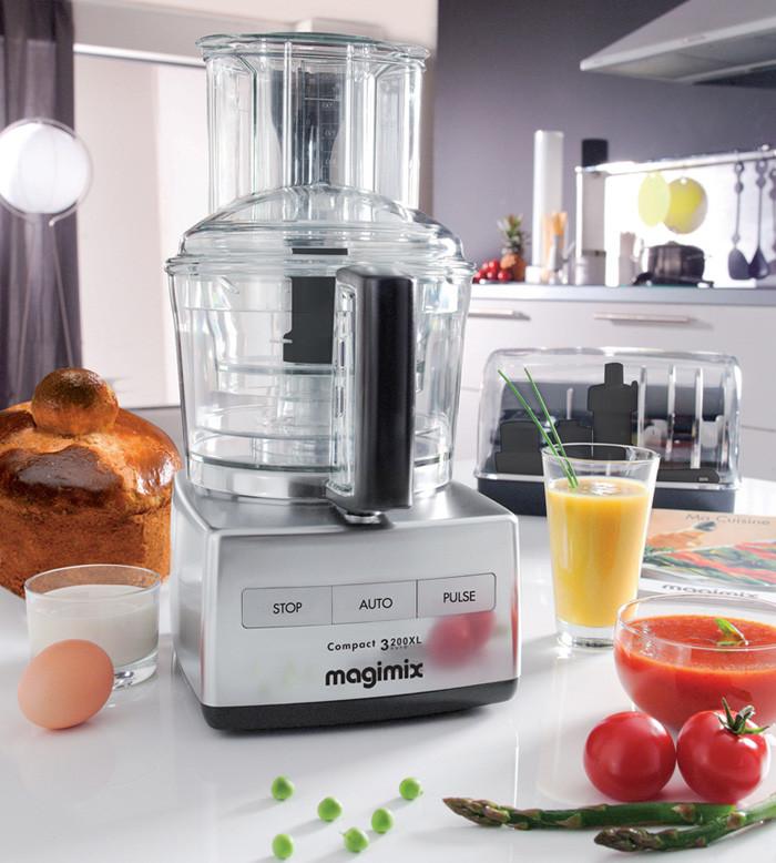 Vielseitig, praktisch, funktional, magic - Magimix Küchenhilfe