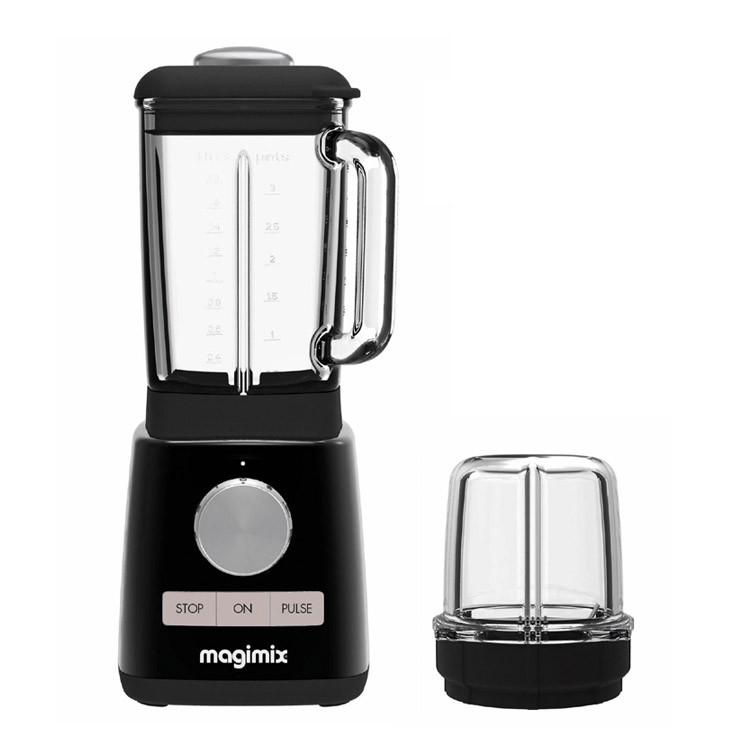 Magimix Blender schwarz + Minibehälter