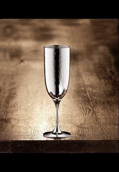 Martelé Champagnerkelch