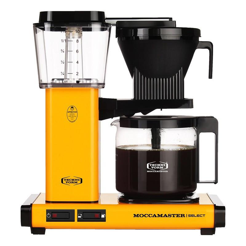 Moccamaster Kaffeemaschine KBG Select Yellow Pepper