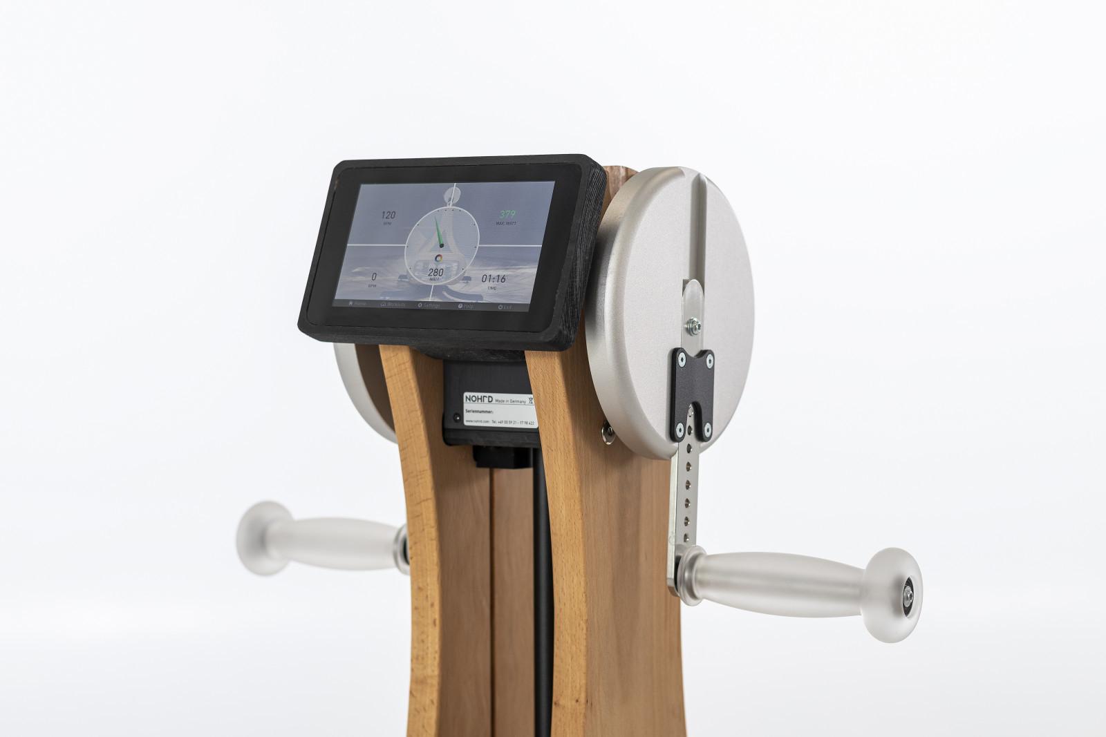 NOHrD WaterGrinder - Oberkörpertrainer Monitor