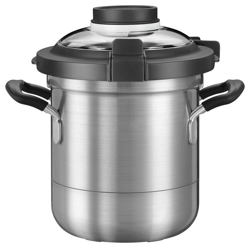 KitchenAid Artisan Cook Processor Gusseisen Schwarz Kochtopf