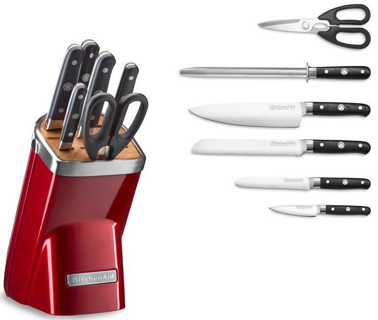KitchenAid 7-teiliges Set Messerblock