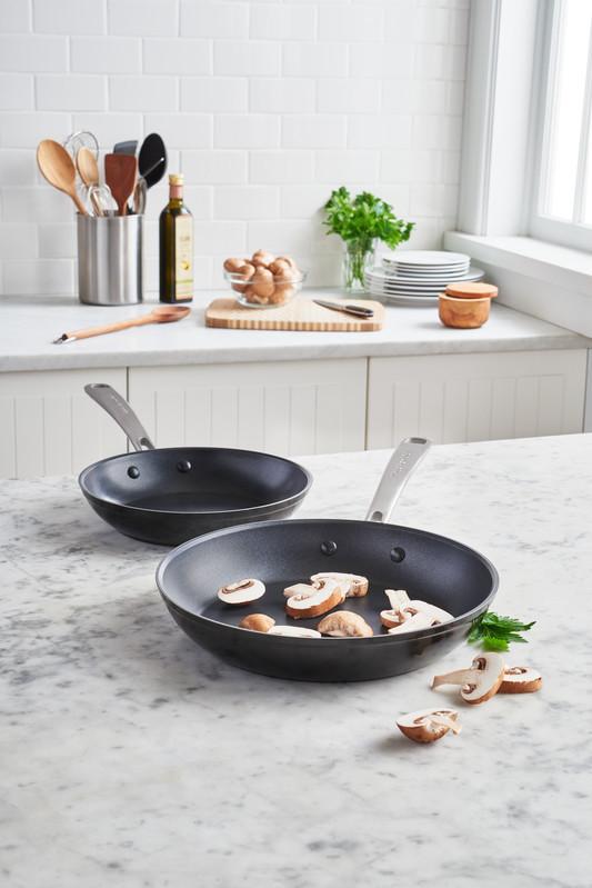 KitchenAid Bratpfanne 20 cm, harteloxiert KC3H110SKEBE