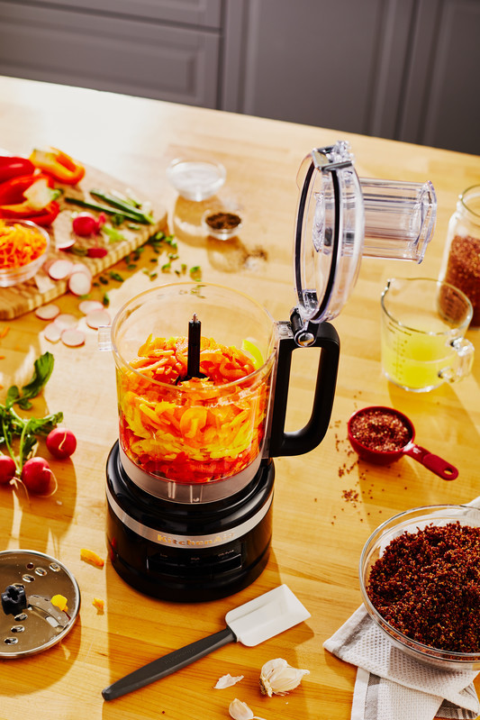 KitchenAid Foodprocessor 2,1 L schwarz  NEU