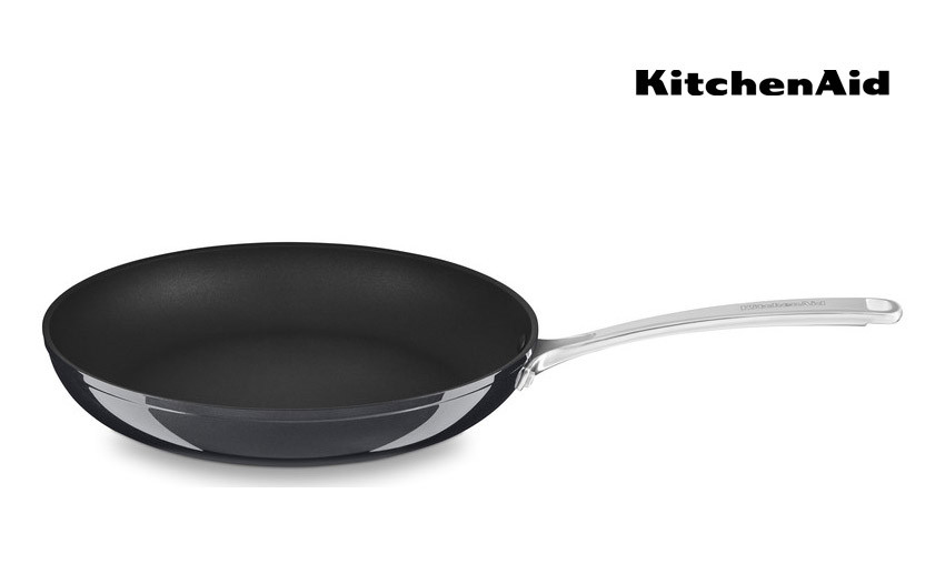 KitchenAid Bratpfanne Ø 30 cm harteloxiert, antihaftbeschichtet