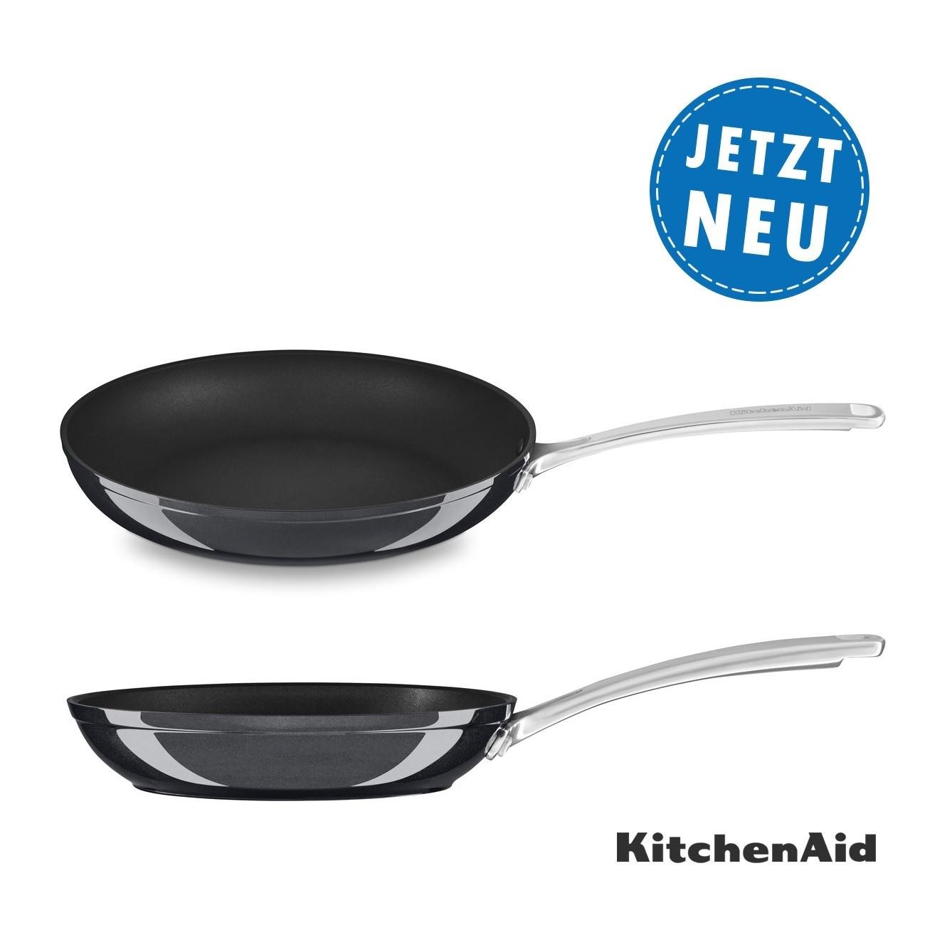 KitchenAid Bratpfanne 30 cm, harteloxiert KC3H112SKEBE