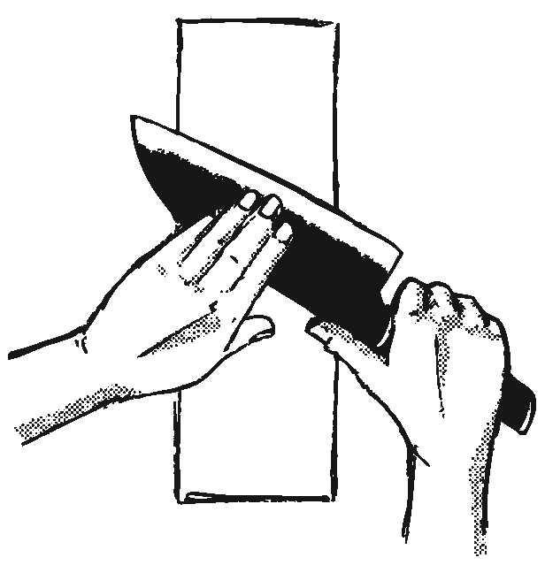 KAI Schleifstein J800 zweiseitig geschliffene Klinge