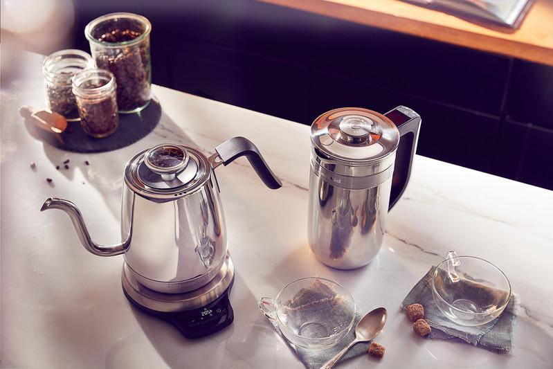 Zeitlos, stilvoll, funktional - Tee- und Wasserkocher von KitchenAid