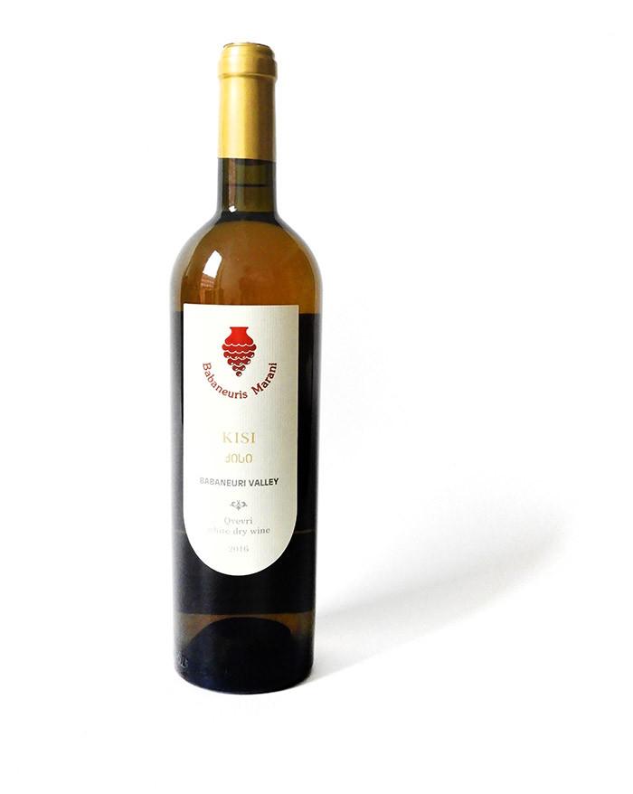 Babaneuris Marani Qvevri Kisi 2016 - Weißwein 0,75l trocken