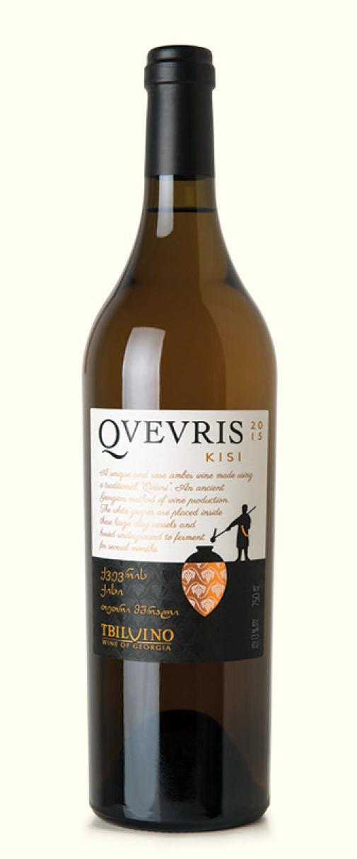 Qvevris Kisi, trockener Weißwein aus Georgien 0,75l