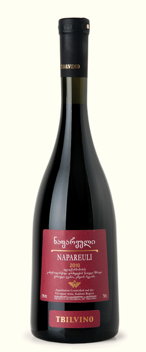 Tbilvino Napareuli Georgien trockener Rotwein 0,75 Liter