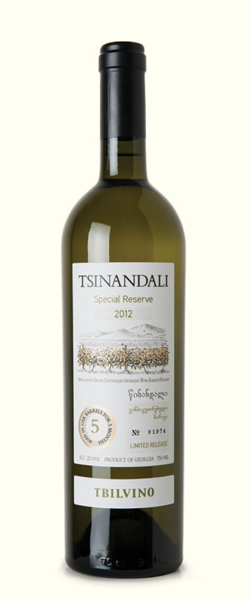 Tbilvino Tsinandali, Special Reserve Georgien, trocken weiß 0,75l