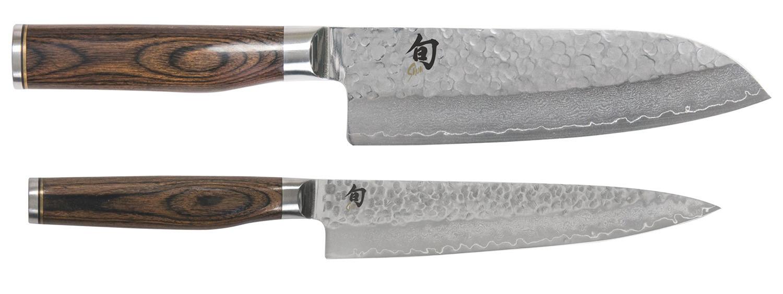 KAI Shun 2tlg. Messerset - Allzweck- + Santoku Messer