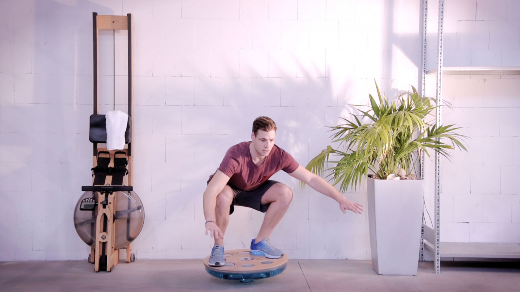 NOHrD Eau-Me Board Eiche - Balanceboard