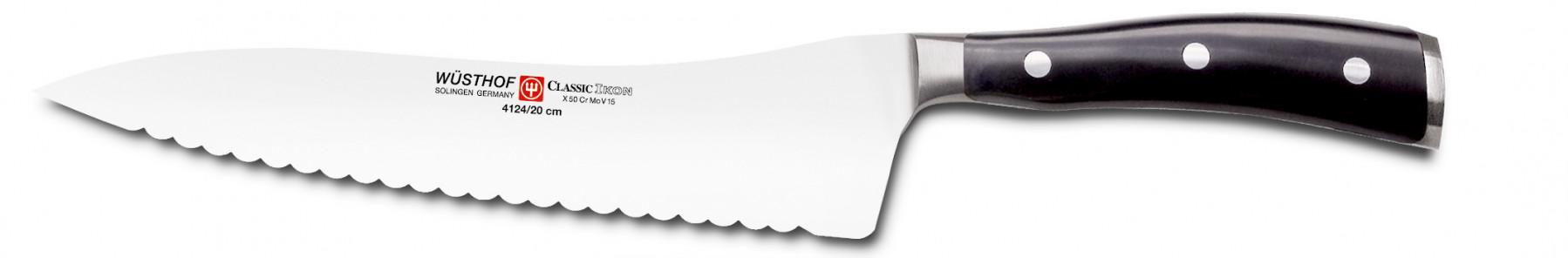 Wüsthof Dreizack Classic Ikon Brotmesser Wave