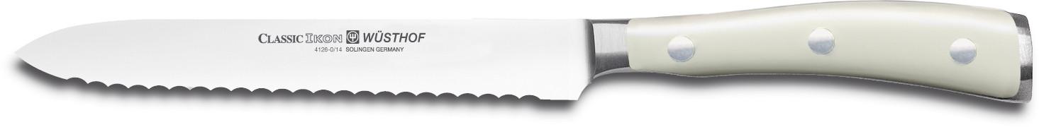 Wüsthof Dreizack Classic Ikon Creme Aufschnittmesser 14cm